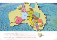The massive size of Australia - Cartographic Comparisons | Personal Geographies