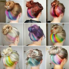 I LIKE BIG BUNS AND I CANNOT LIE  . SERIOUSLY...Since July, this has been the most requested colour technique I have ever had. There are so many more, with so many different colour combos! Thanks @rubydevine for the inspiration!. Tag a friend that would love Underlights!!!