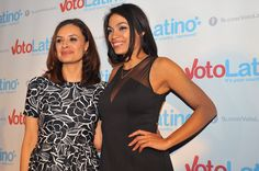 """Co-founded by Rosario Dawson and led by CEO and founding President Maria Teresa Kumar, Voto Latinowas launched with all millennials in mind. According to the non-partisan organization's website, Voto Latino was founded on """"the belief that Latino issues are American issues and American issues are Latino issues,"""" and """"is dedicated to bringing new and diverse voices to develop leaders by engaging youth, media, technology and celebrities to promote positive change."""""""