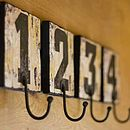 Number Hooks by Isabel Ballardie Interiors Thoughtful Gifts For Her, Hat Hooks, Towel Hooks, Home Storage Solutions, Relaxation Room, Woodworking Projects Plans, Storage Boxes, Holidays And Events, Modern Rustic