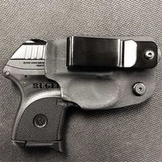 Kydex Inside Waist Band (IWB) Holster for concealed carry.  I love my Ruger! www.carrypros.com