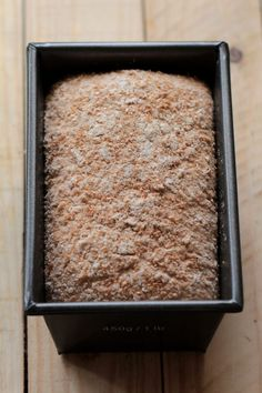 Whole Wheat Sourdough, Sourdough Bread, Banana Bread, Desserts, Food, Yeast Bread, Tailgate Desserts, Deserts, Essen