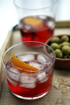 Negroni | David Lebovitz my favourite drink who knew I could make by the barrel