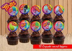 Ninjago Toppers Stecker Cupcake Geburtstag Torten Muffin Kuchen Ballon Deko Held