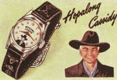 Hopalong Cassidy wrist watch..