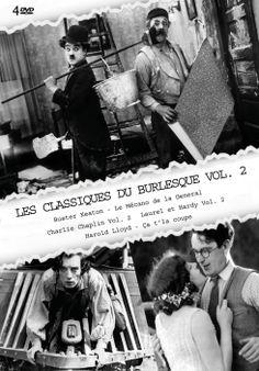 Découvrez les nouveautés Coffrets DVD Muet noir et blanc chez RDM Edition Achat coffret DVD Les classiques du burlesque VOL.2 Rendez-vous sur notre site de vente en ligne CD/DVD : http://www.rdm-edition.fr/achat-dvd/classiques-du-burlesque-les-ca-t-la-coupe-le-mecano-de-la-general-charlie-chaplin-vol-2-laurel-et-hardy-vol-2-volume-2/V59014.html