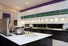 Showroom of nobilia german kitchen design from Audus kitchens. Nobilia Kitchen, Kitchen Design, Kitchen Cabinets, German Kitchen, Stylish Kitchen, Showroom, Kitchens, Interiors, Modern