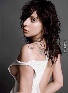 Lady Gaga Appears Topless In V Magazine Issue Lady Gaga has seemingly been everywhere lately thanks to the release of her first ARTPOP single, Poker Face, Miley Cyrus, Images Lady Gaga, Joanne Lady Gaga, Playboy, V Magazine, Pop Singers, Models, The Girl Who