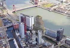 Terraced Tower Rotterdam birdview