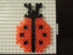 Marienkäfer aus Bügelperlen  Perler Beads