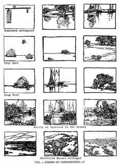 Edgar Payne Environment Composition Layout 02:
