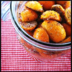 salt & pepper preserved kumquats
