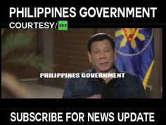 a gorgeous foreign reporter admires President Rodrigo Duterte for being a fearless and patriotic president. Rodrigo Duterte, News Update, Presidents