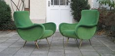 2 Marco Zanuso Lady Chairs in the manner of