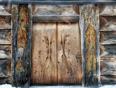 Wooden church in Lieksa, Finland - designed and built by Eva Ryynänen Lappland, House In The Woods, Scandinavian Design, Finland, Architecture, Pictures, Painting, Art, Culture