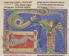 Bibliothèque nationale de France, Département des manuscrits, NAL 2290, f155r. Beatus. Commentaire sur l'Apocalypse.