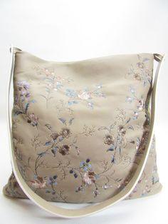 Auth ETRO Beige Lambskin Leather Floral Embroidered Cross Body Bag, Shoulder Bag  | eBay