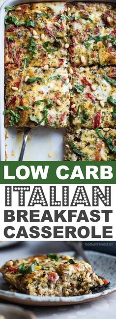 Personalized Graduation Gifts - Ideas To Pick Low Cost Graduation Offers Keto Low Carb Italian Breakfast Casserole These Easy Low Carb And Keto Breakfast Recipe Ideas Are Perfect To Make Ahead Of Time, And Simply Grab For On The Go Meal Prep Can Be A Life Low Carb Breakfast Easy, Italian Breakfast, Breakfast On The Go, Breakfast Recipes, Breakfast Ideas, Low Carb Keto, Low Carb Recipes, Healthy Recipes, Low Carb Eier Muffins