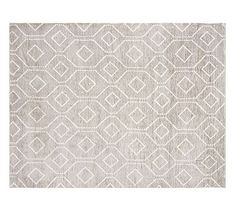 Darcy Rug - Gray #potterybarn $949 9X12 RAYON/WOOL/COTTON. A sheen.Problem?