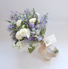 baby's breath and lavender wildflower bouquet - Google Search
