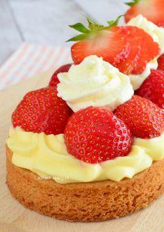 strawberry tart - aardbeienslof - Laura's Bakery