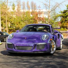 Porsche 991 GT3 RS painted in Ultraviolet Purple   Photo taken by: @northeastmotorcars on Instagram