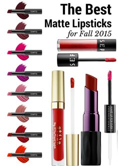 The Best Matte Lipsticks for Fall 2015