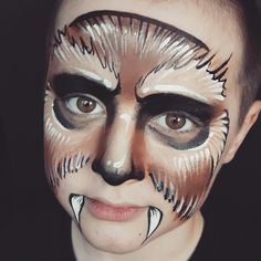 Star Wars chewi  face paint