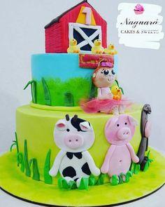 Torta animalitos de la granja!