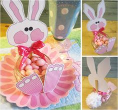 Parties and Patterns: Easter Party Favors! Homemade Party Favors, Some Bunny Loves You, Bunny Party, Cute Easter Bunny, Easter Crafts, Easter Ideas, Easter Candy, Easter Celebration, Mason Jar Crafts