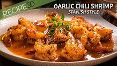 Chili Recipes, Shrimp Recipes, Asian Recipes, Ethnic Recipes, Copycat Recipes, Easy Recipes, Seafood Dishes, Fish And Seafood, Chili Shrimp