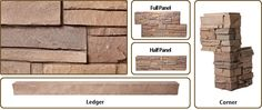 Stratford Stack Faux Stone Siding - an much more inexpensive way to get a beautiful stone look exterior. Home Design Plans, Plan Design, Faux Stone Siding, House Foundation, Home Improvement, House Plans, Tile, Parents, Outdoors