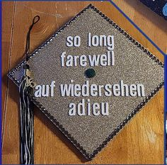 Graduation Cap--- Sound of Music