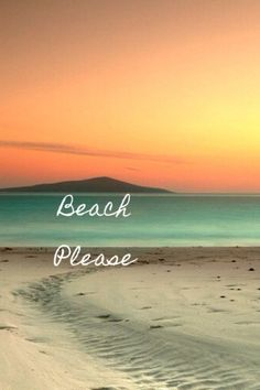 beach please :)