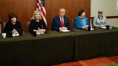 en directo: Momentos antes del debate Donald Trump le da golpe...