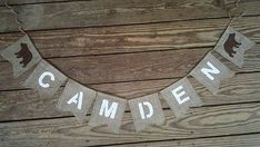 Hey, I found this really awesome Etsy listing at https://www.etsy.com/listing/454502084/birthday-shower-nursery-name-burlap