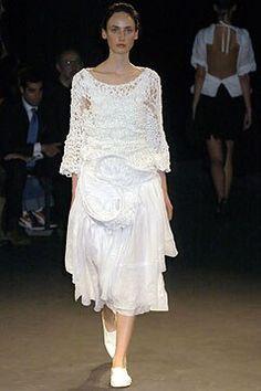 Junya Watanabe Spring 2005 Ready-to-Wear Fashion Show - Christina (V MODELS e439ad8bc3ae