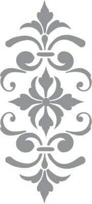 Glass etching stencil of Fleur de Lis. In category: Fleur de Lis Mehr Stencil Patterns, Stencil Art, Stencil Designs, Embroidery Patterns, Stencil Templates, Damask Stencil, Hand Embroidery, Glass Etching Stencils, Scroll Saw Patterns