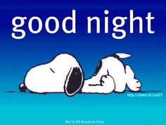 snoopy goodnight - Google Search