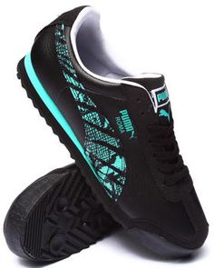 Puma - Roma SL NBK 2 Wild Rebel Sneakers Puma Sneakers, Air Max Sneakers, Black Puma, Men's Footwear, Kinds Of Shoes, Sports Shoes, Shoe Game, Nike Air Max, Men's Shoes