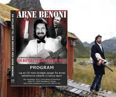 Program – Arne Benoni Productions Compact Disc, Country Artists, Cabaret, Programming, Movie Posters, Products, Film Poster, Computer Programming, Billboard