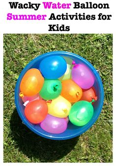 1000 images about outdoor summer fun on pinterest for Fun balloon games for kids