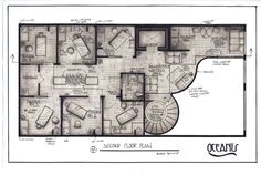 Day Spa Project - This was my first design studio project in school--a day spa which we were given existing exterior walls work with. All of the drawings are hand-drawn and rendered with gray scale ma...