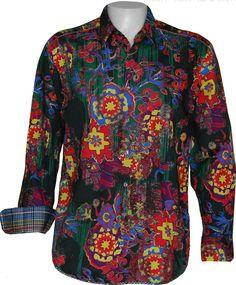 Robert graham shirts for modern men robert graham shirts robert graham love machine sport shirt - robert graham sport shirts - robert graham FOVGWYD Bold Fashion, Mens Fashion, Casual Outfits, Men Casual, Love Machine, Cool Shirts, Awesome Shirts, Men Shirts, Robert Graham
