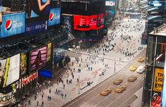 More pedestrian plazas...as part of Snohetta's Times Square redesign...