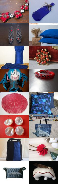 +++++Blue and Red+++++ by Vilma Matuleviciene on Etsy--Pinned+with+TreasuryPin.com