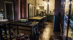 Image result for black house robertson Black House, Conference Room, Mirror, Google Search, Table, Image, Furniture, Home Decor, Decoration Home