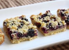 Food Wishes Video Recipes: Blueberry Shortbread Bars – Please Don't Call These Cookies