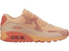 Nike Wmns Air Max 90 Print 724980 800 | Pomarańczowy