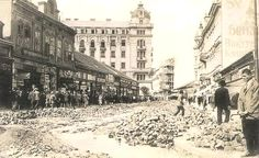 Beograd - 1930. - Knez Mihajlova - rekonstrukcija